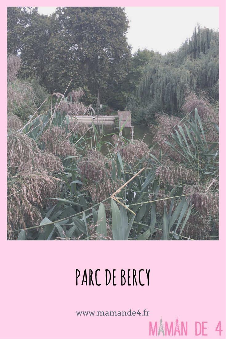 promenade au parc de Bercy Paris