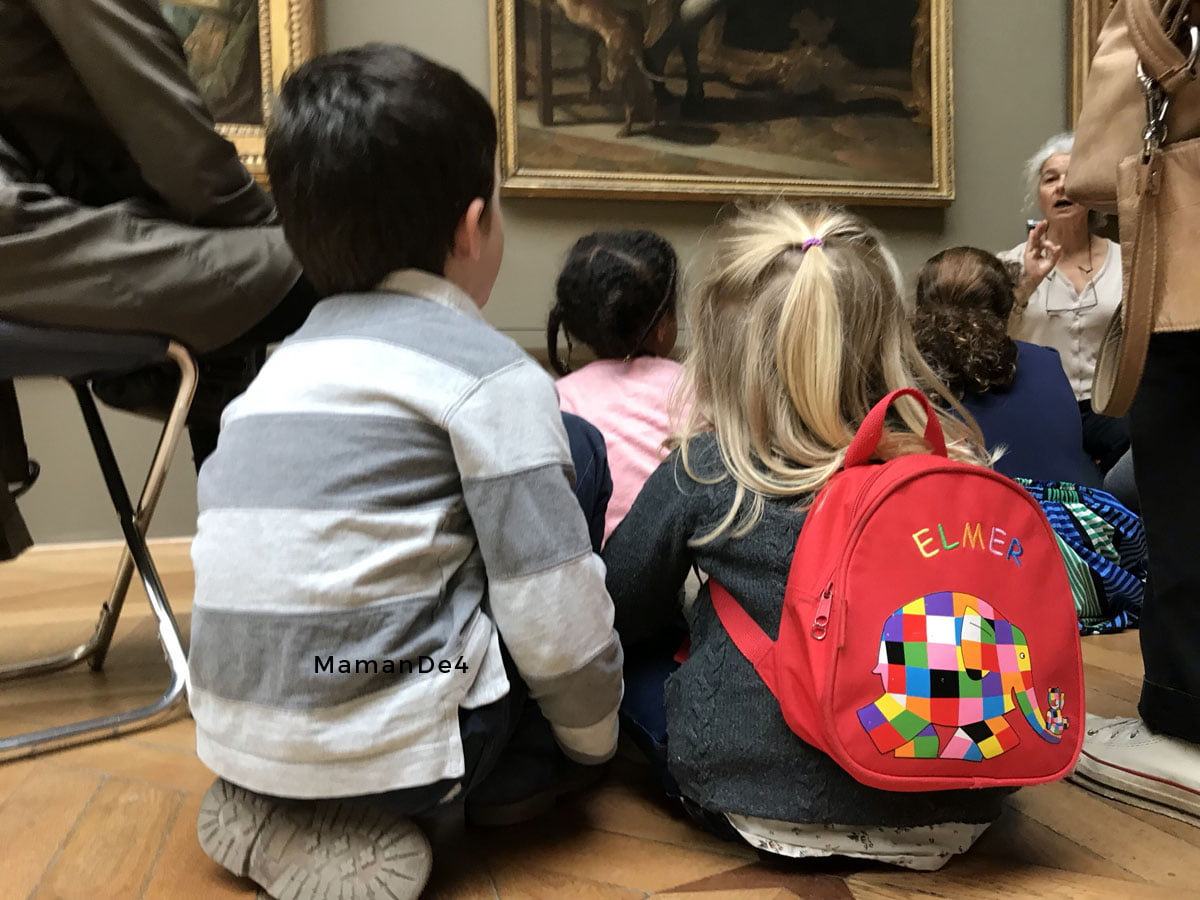 Louvre contes pour enfants