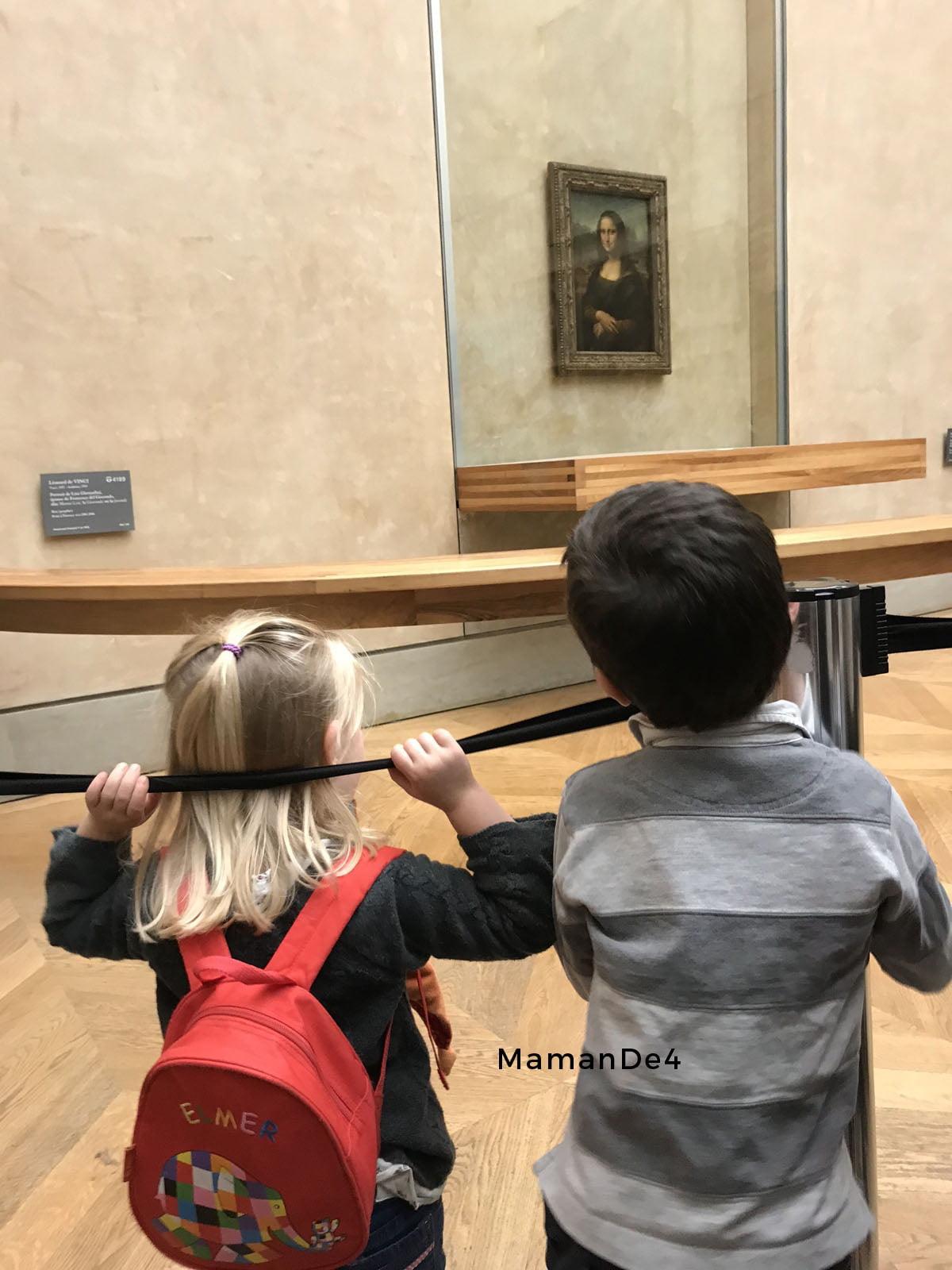Atelier enfants louvre Joconde