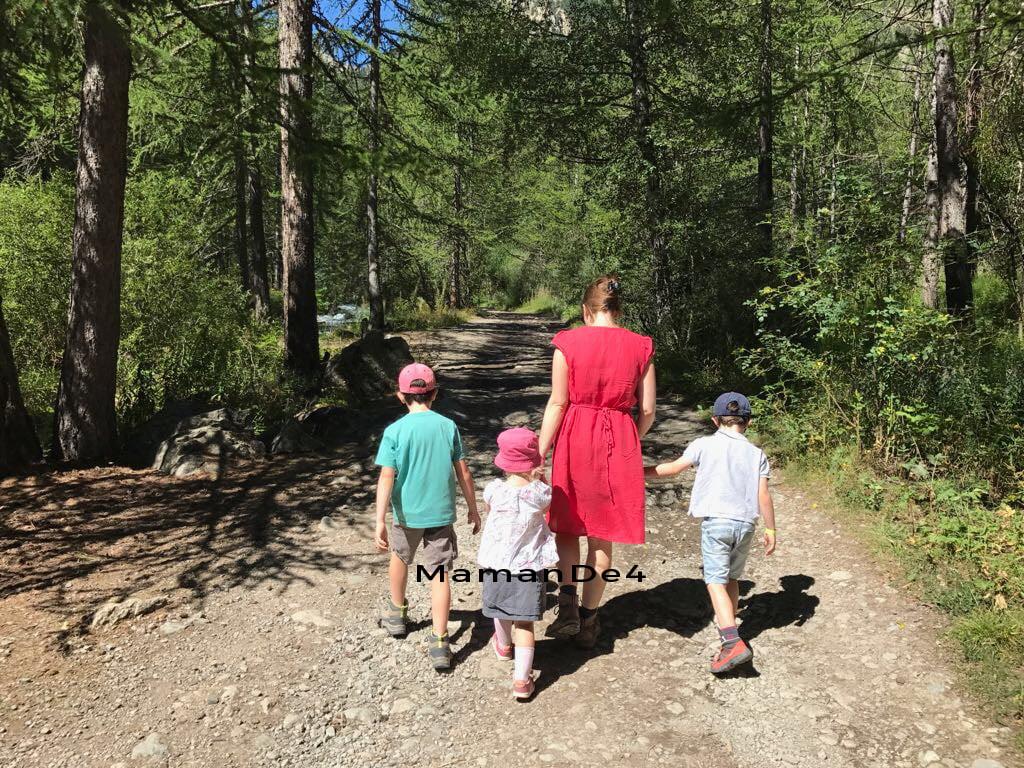 promenade en montagne enfants