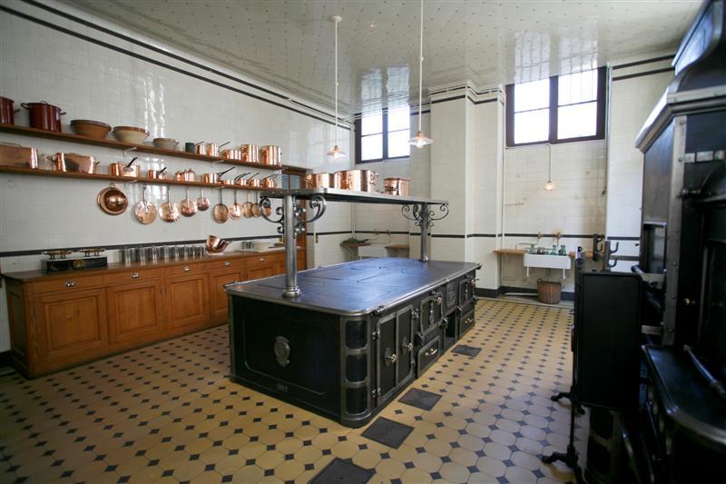 La cuisine du musée Nissim de Camondo - Paris