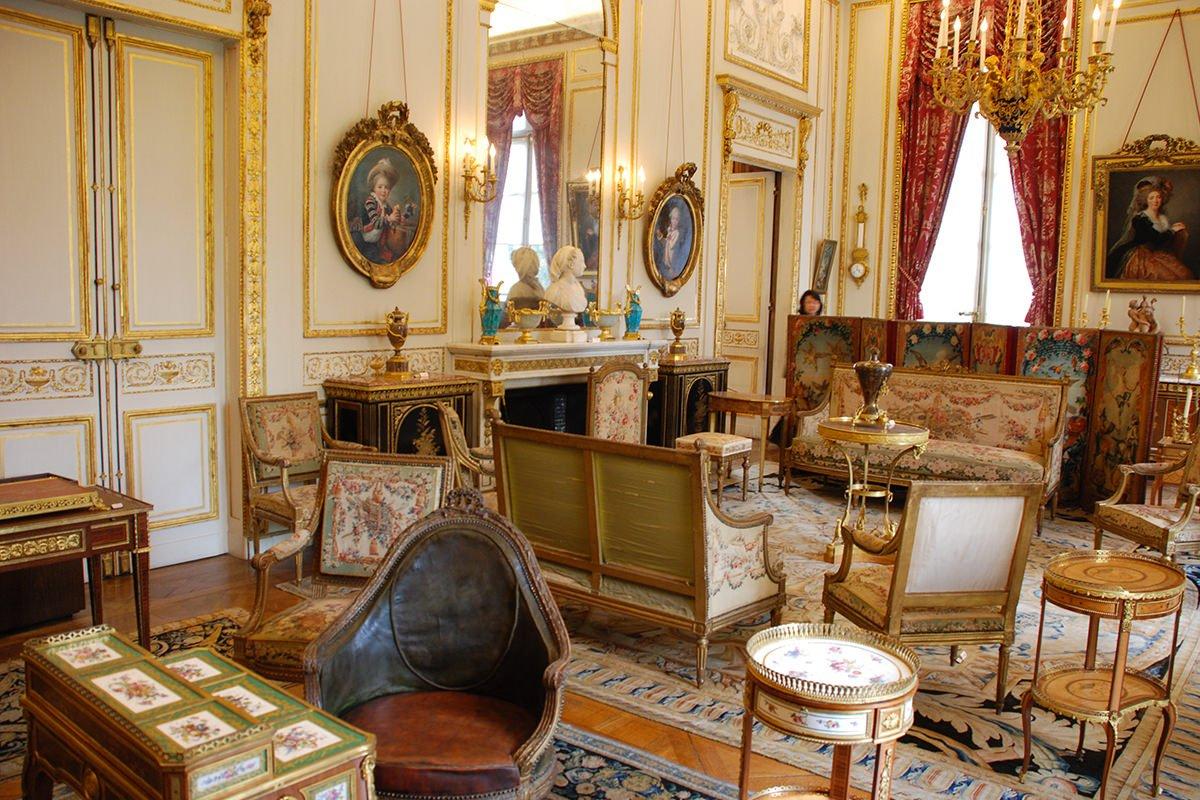 Salon du musée Nissim de Camondo - Paris