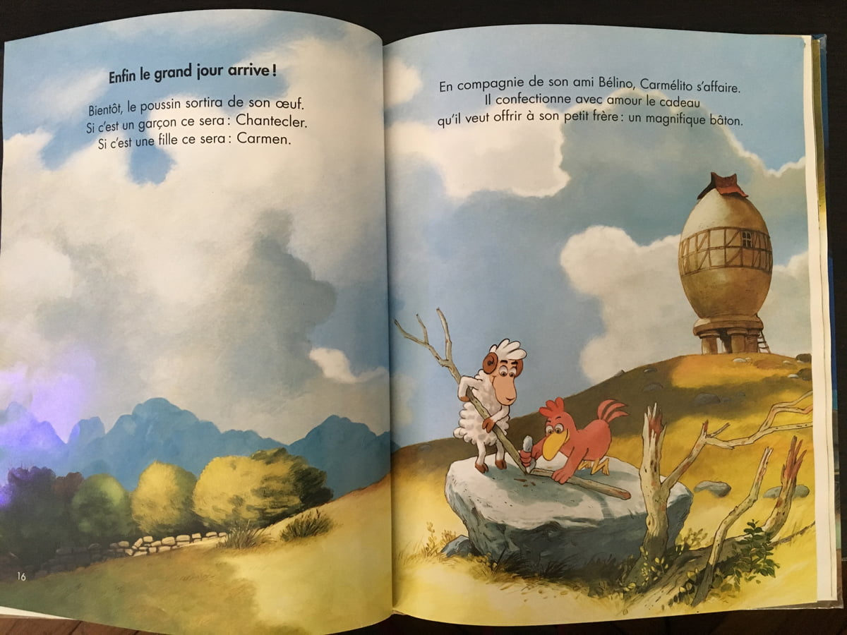 Livres enfants à partir de 4 ans - poules