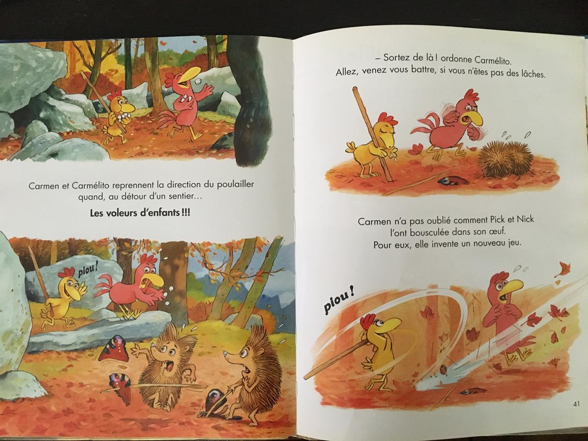 Les Ptites Poules livre pour enfants à partir de 4 ans