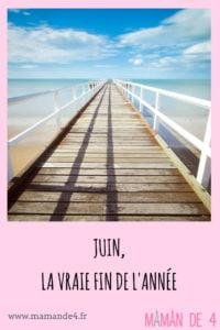 juin, la vraie fin de l'année