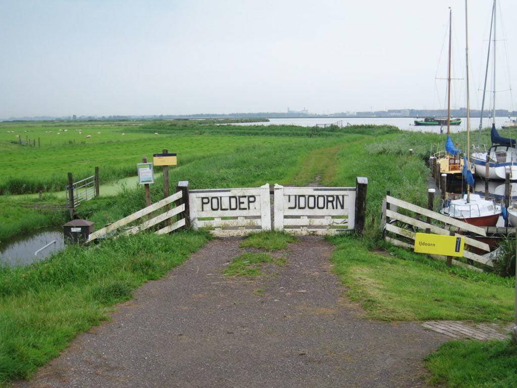 Les polder, paysage caractéristique de la Hollande