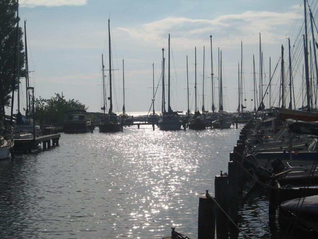 un joli port hollandais
