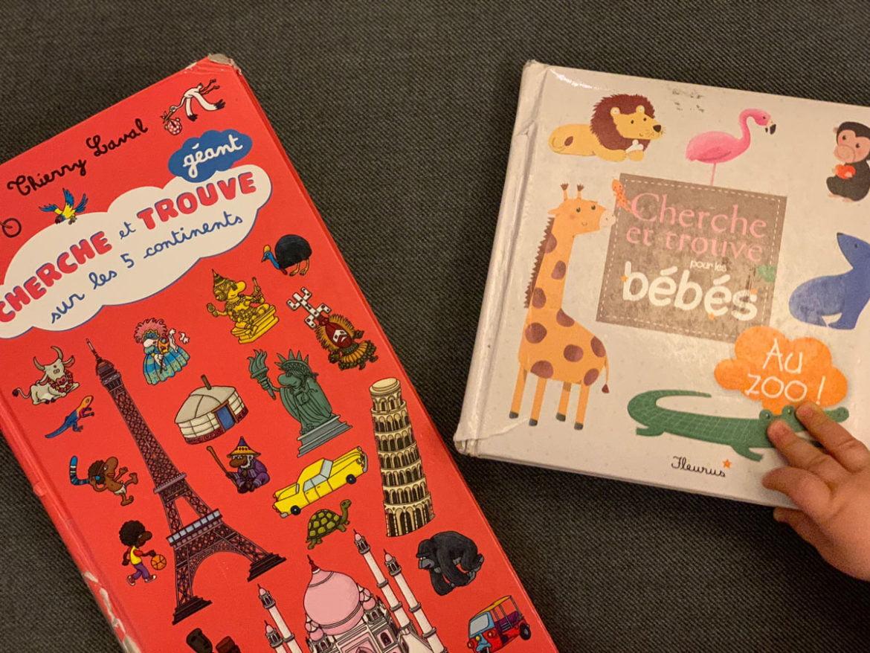 Cherche et trouve - livre pour enfants