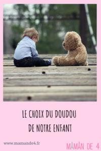 Le doudou de notre enfant