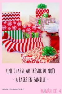 Une chasse au trésor de Noël
