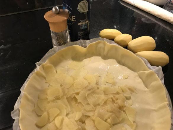 Préparation pour gâteau de pommes de terre