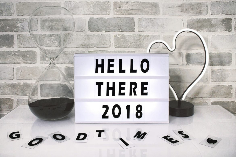 Bilan de l'année 2018