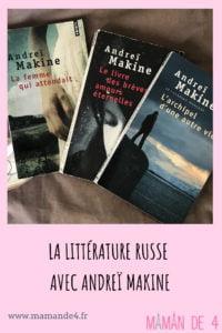 Les livres de Makine
