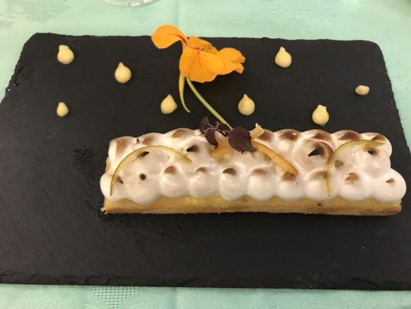 Sablé crème yuzu