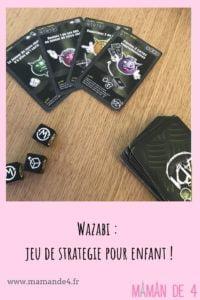 Wazabi - jeu enfant