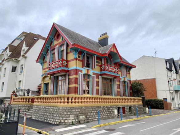 Wimereux et ses maisons colorés