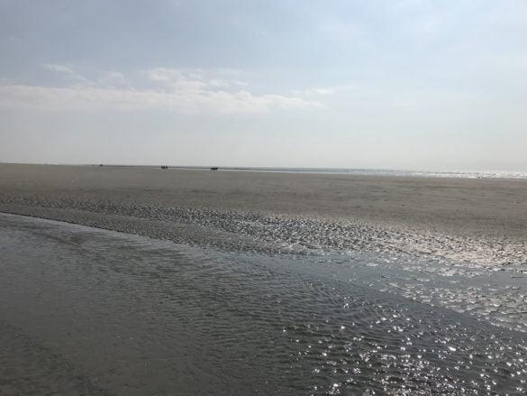 La grande plage du Touquet Paris Plage