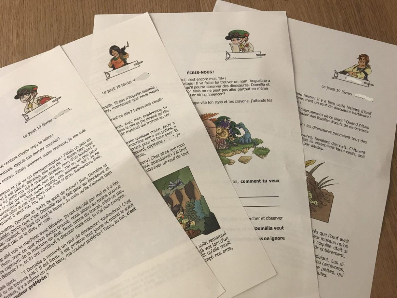 Epopia, l'écriture pour enfants