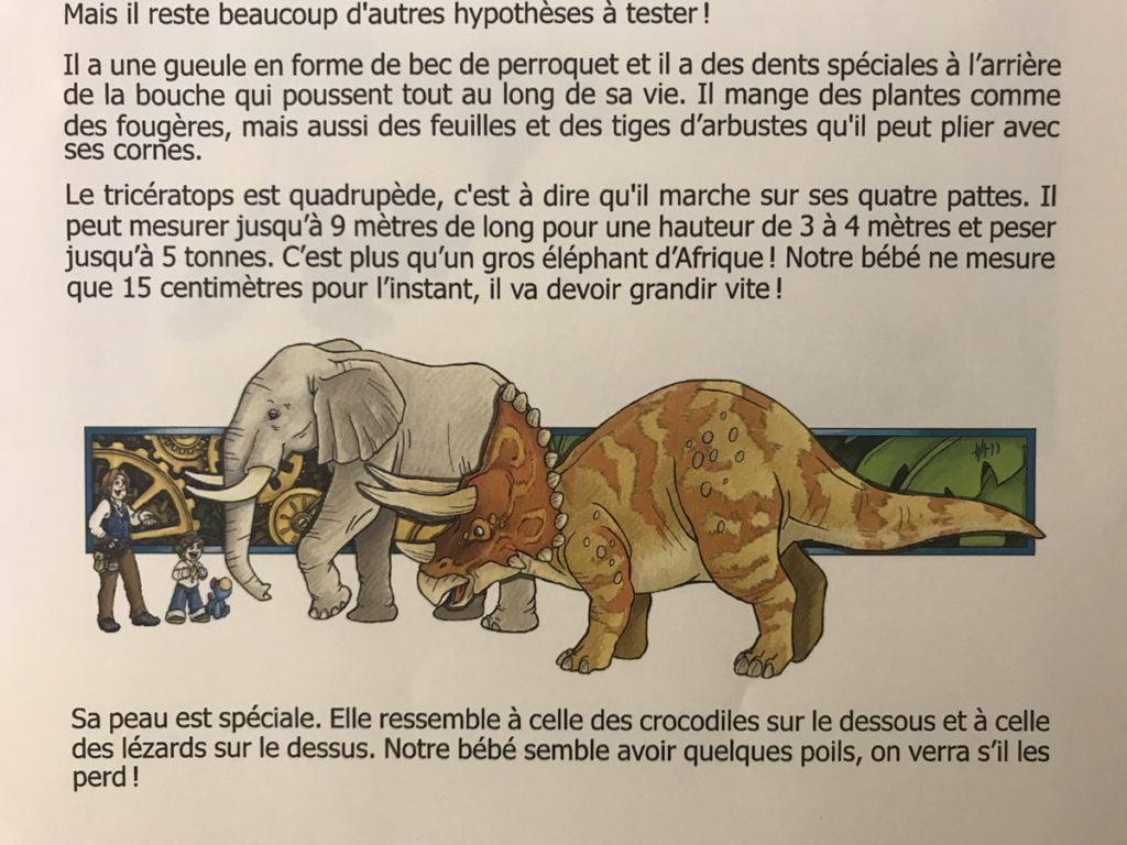 Le thème des dinosaures
