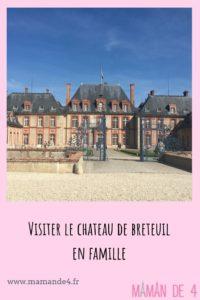 Les jardins du château de Breteuil