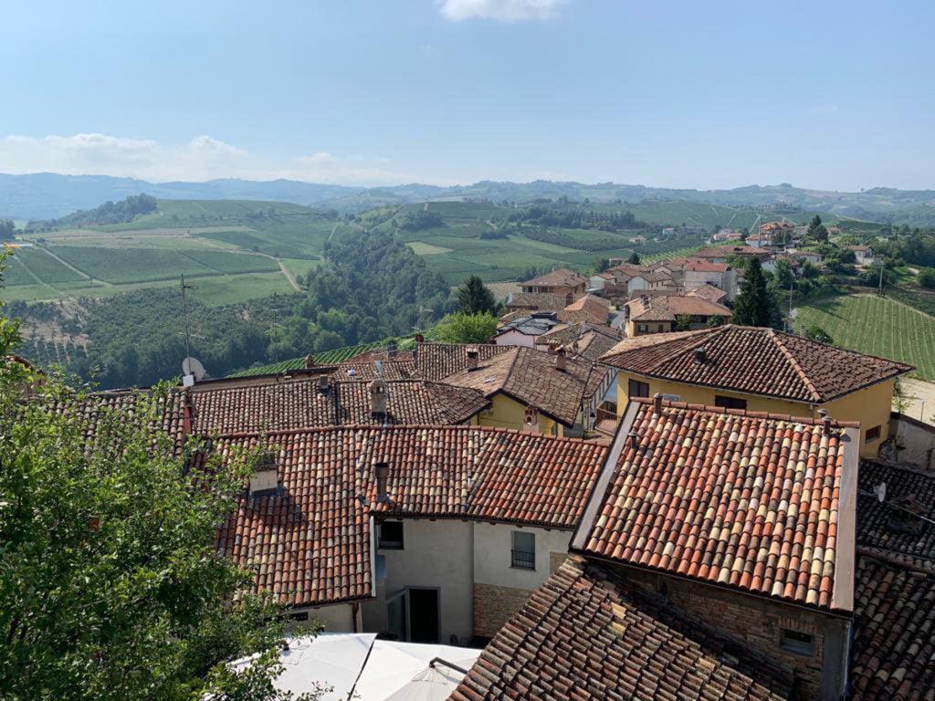 Petit village italien dans le piémont