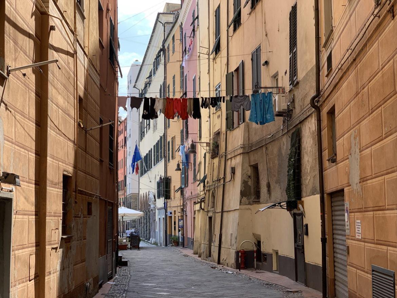 les rues charmantes de l'italie