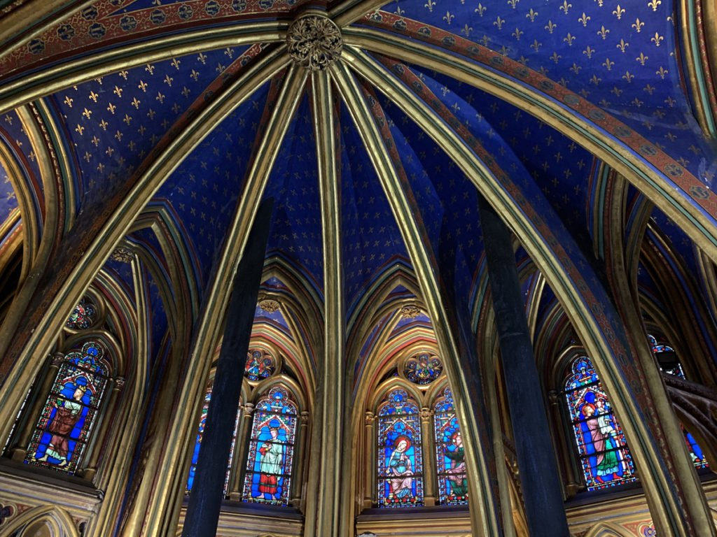 la Sainte-Chapelle à Paris