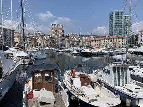 Le port de Savona